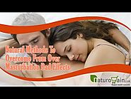 Natural Methods To Overcome From Over Masturbation Bad Effects