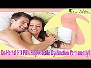 Do Herbal ED Pills Stop Erectile Dysfunction Permanently?