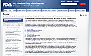 Preventable Adverse Drug Reactions: A Focus on Drug Interactions