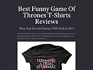 Best Funny Game Of Thrones T-Shirts Reviews