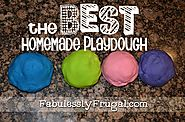 The BEST Homemade Play Dough Recipe {Picture Tutorial}