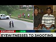[8/13/14] New video from the Michael Brown shooting death