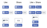 Facebook New Like and Share Buttons