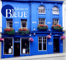 Maison Bleue french restaurant, Edinburgh
