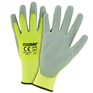 PosiGrip Touch Screen Hi Vis Palm-Coated Nylon Gloves - Bulk | Copper State Supply, Inc.