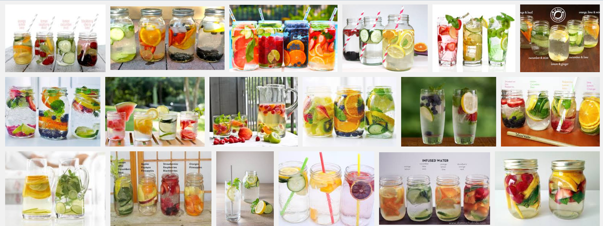Headline for Yummy Infused Water Recipes to Get More Water Daily