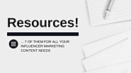 The 7 Best Influencer Marketing Resources - Traackr