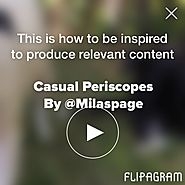 This is how to be inspired to produce relevant content - Flipagram