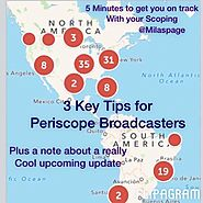 3 Key Tips for Periscope Broadcasters - Flipagram