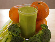 Green Citrus-Broccoli Whole Juice Recipe