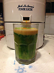 Broccoli and Spinach Juice