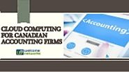 Cloud Computing for Canadian Accounting Firms