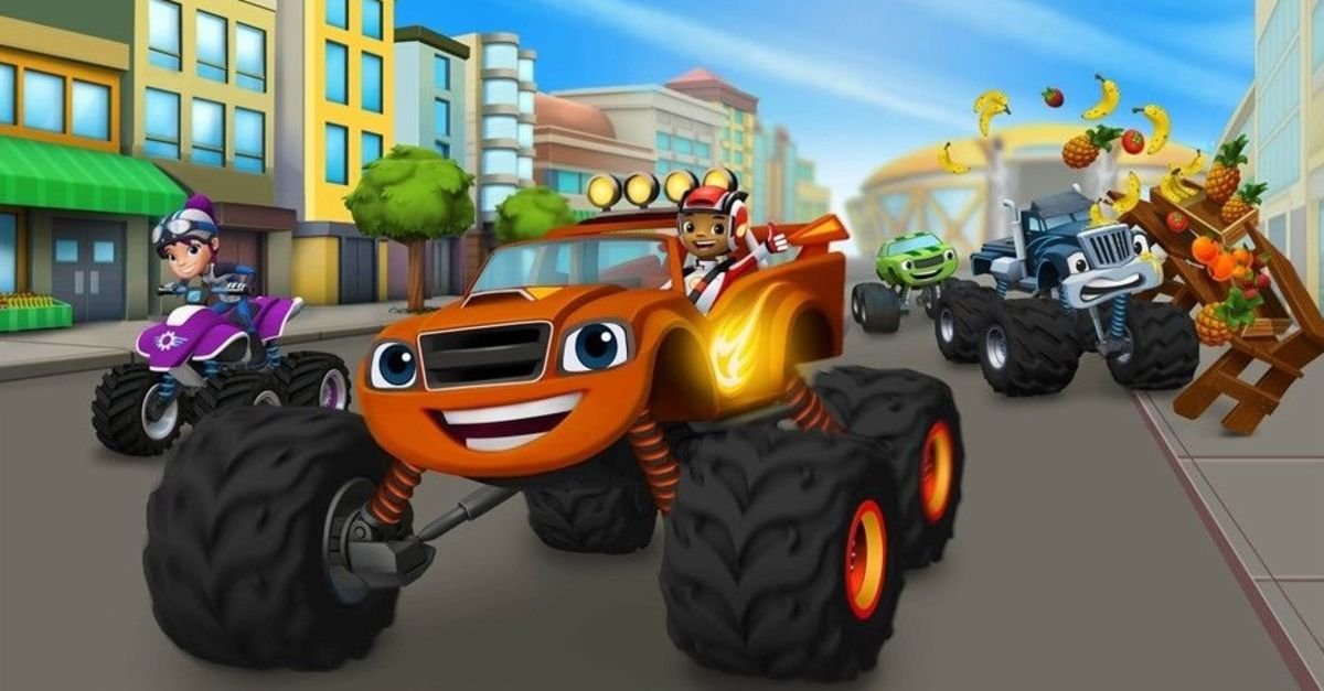Blaze And The Monster Machines Party Supplies Ideas For Birthday Theme