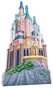 DISNEY PRINCESS CASTLE CUT OUT