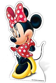 Minnie Mouse Star Mini Cut Out