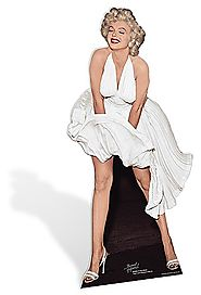 MARILYN MONROE CUT OUT