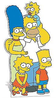 SIMPSONS FAMILY CUT OUT
