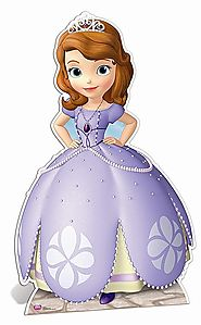 SOFIA THE FIRST CUT OUT