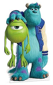 SULLEY AND MIKE CUT OUT