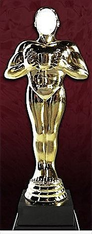 AWARD STATUE CUT OUT