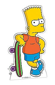 Bart Simpson Cut Out