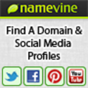 Instantly Find a Domain, Facebook & Twitter Account - Namevine