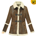Women Winter Shearling Sheepskin Coat CW614022