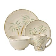 Pfaltzgraff Everyday Palm 16-Piece Dinnerware Set (Service for 4)