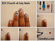 4th Of July Nail Designs & 4th Of July Nail Art Ideas
