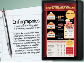 Infographics in Education - home