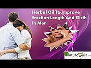 Herbal Oil To Improve Erection Length And Girth In Men