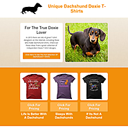 Unique Dachshund Doxie T-Shirts