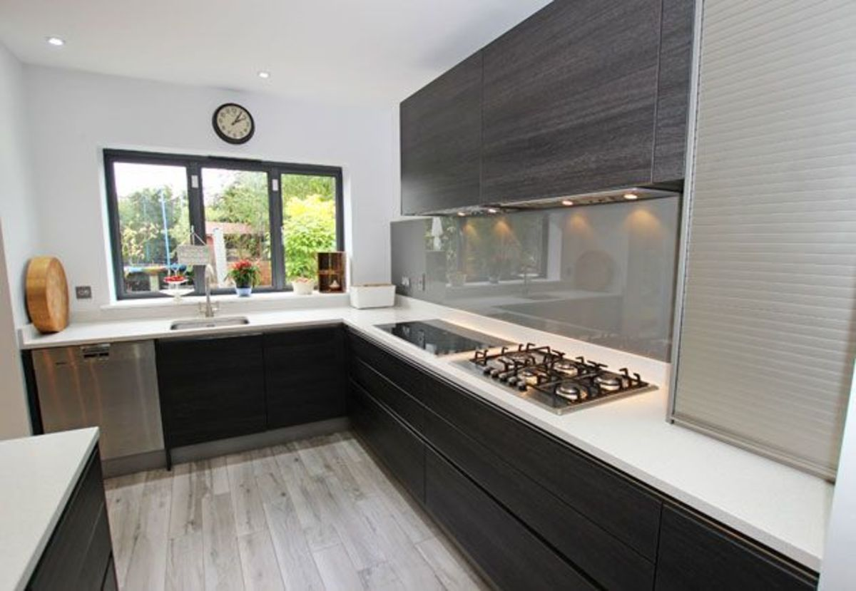 Headline for White and Black Granite Kitchen Worktops London - MKW Surfaces