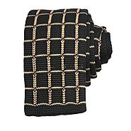 Black & Light Brwon Knitted Ties