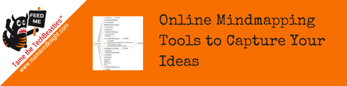 Headline for An Alternative to Left Brain Outlines: Online Mind Mapping Tools