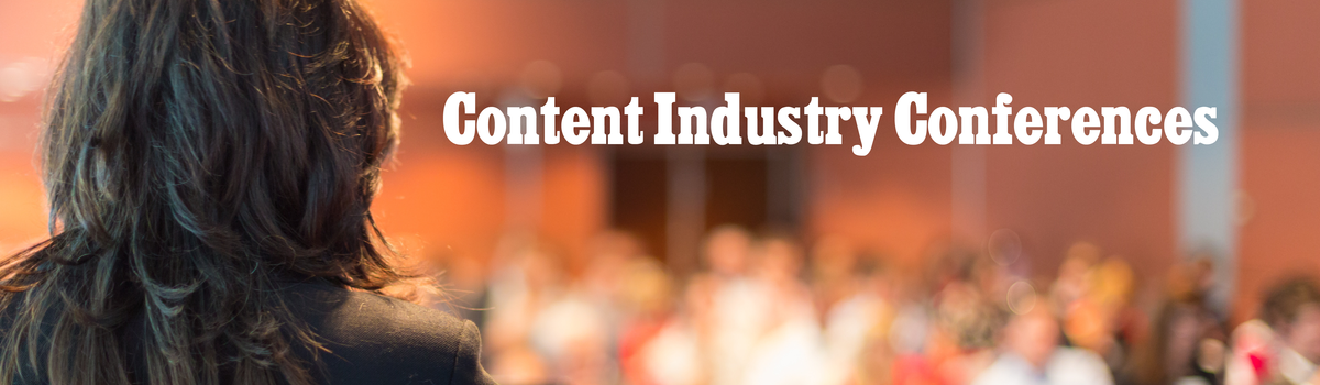 Headline for Content Industry Conferences