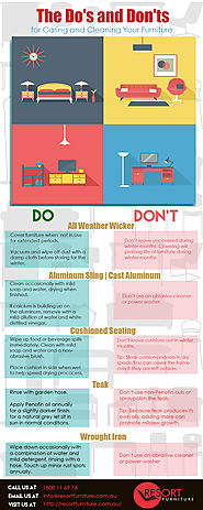 Do's & Don'ts of Taking Care of Your Furniture