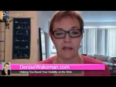 Adventures in Visibility with Denise Wakeman - Pinterest Tip