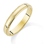 Gold Band Rings