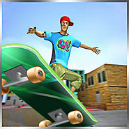 Extreme Skate Boarder 3D Free Street Speed Skating Racing Game