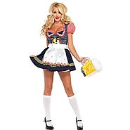 Making your own German Beer Maid Costumes