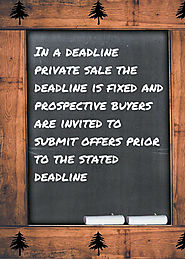 A Deadline Private Sale