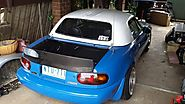 CarbonMiata Boot Lid with High Ducktail for NA Miata MX-5