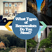 What Types of Removalists Do You Need?