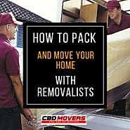 How to pack and Move your Home with Removalists?