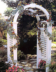 Easiest Way to Build an Garden Arbor