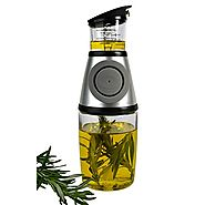 Artland Press and Measure Glass Herb with Oil Infuser, 10 Ounce