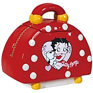 Westland Giftware Ceramic Betty Boop Handbag Cookie Jar, 9-Inch
