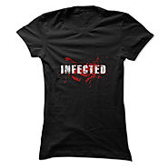 The Walking Dead T Shirt, The Walking Dead Infected T Shirt, Infected T Shirt