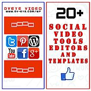 20+ Social Video Tools Editors and Free Templates